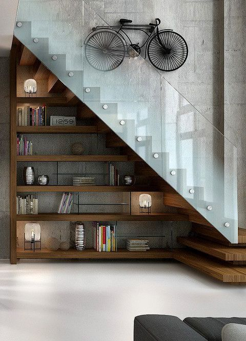escadas de lofts