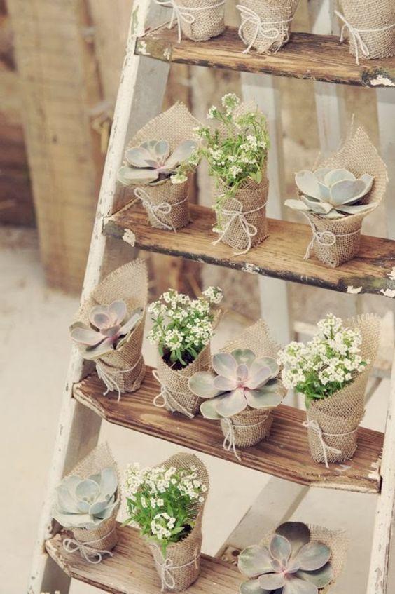 festa de noivado arranjos