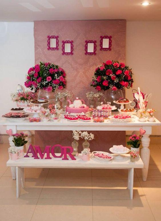 Festa de Noivado Ideias para Organizar e Fotos -> Decoração De Noivado