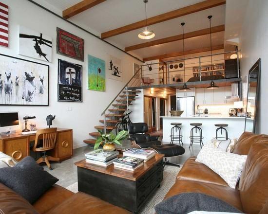 Modelos de lofts decorados