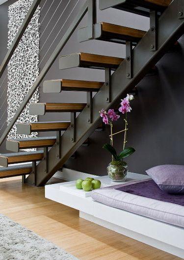 Escadas de lofts decoradas