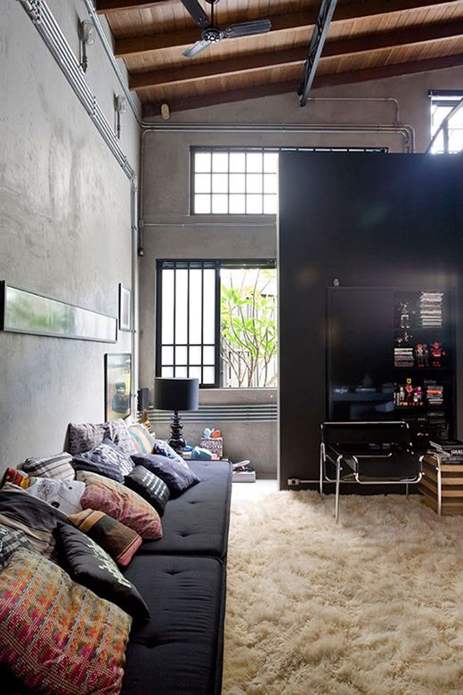 Lofts com decoração sofisticada