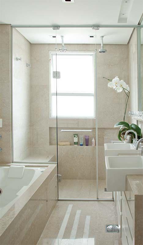 Banheiros com Banheiras lindas