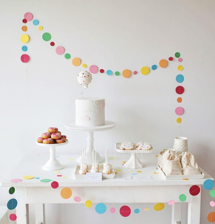 aniversário simples decorado