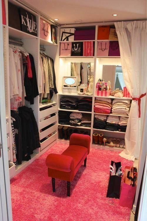 closet pequeno para mulher