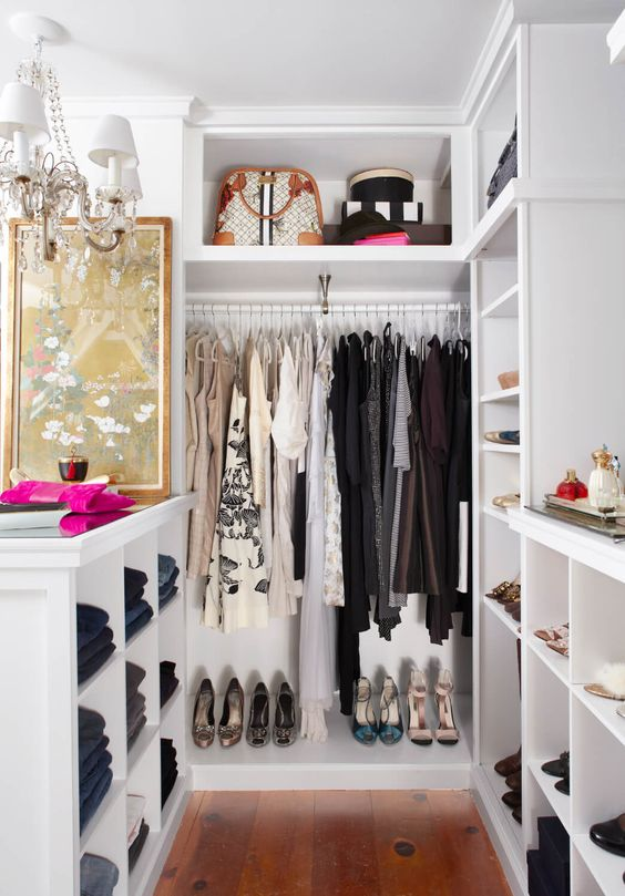 closets pequenos chiques