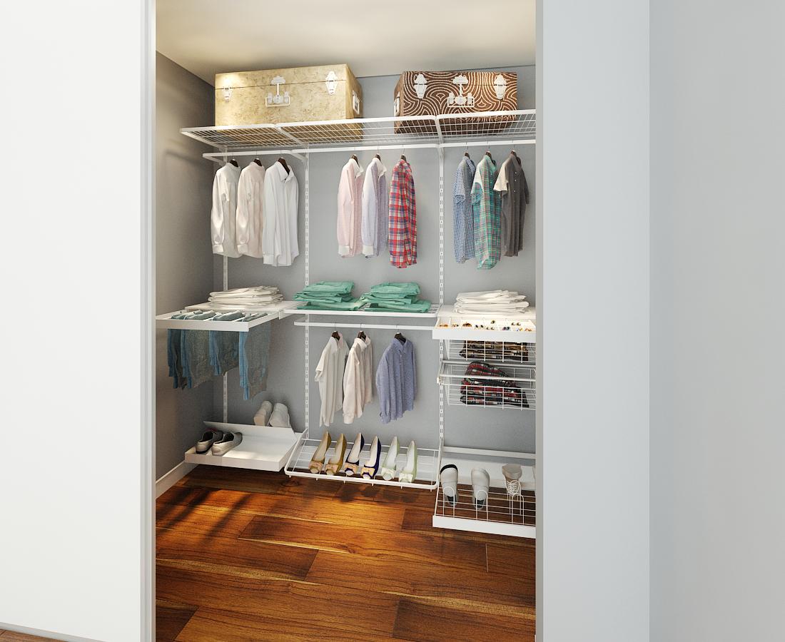 A Closet 40 Closets Pequenos Que V 227 O Inspirar Voc 234