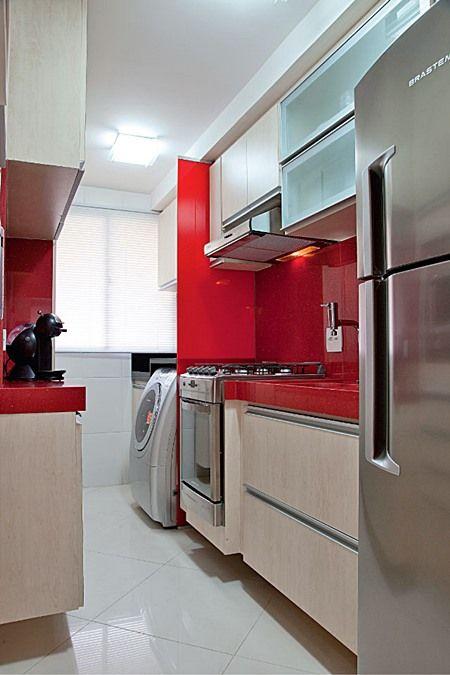 Como decorar Cozinhas Vermelhas