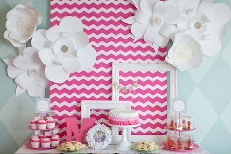 como fazer decoração de aniversario simples e barata