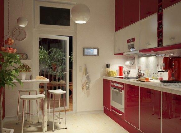 Cozinhas Vermelhas