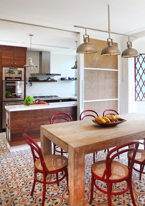 Cozinhas Vermelhas como decorars