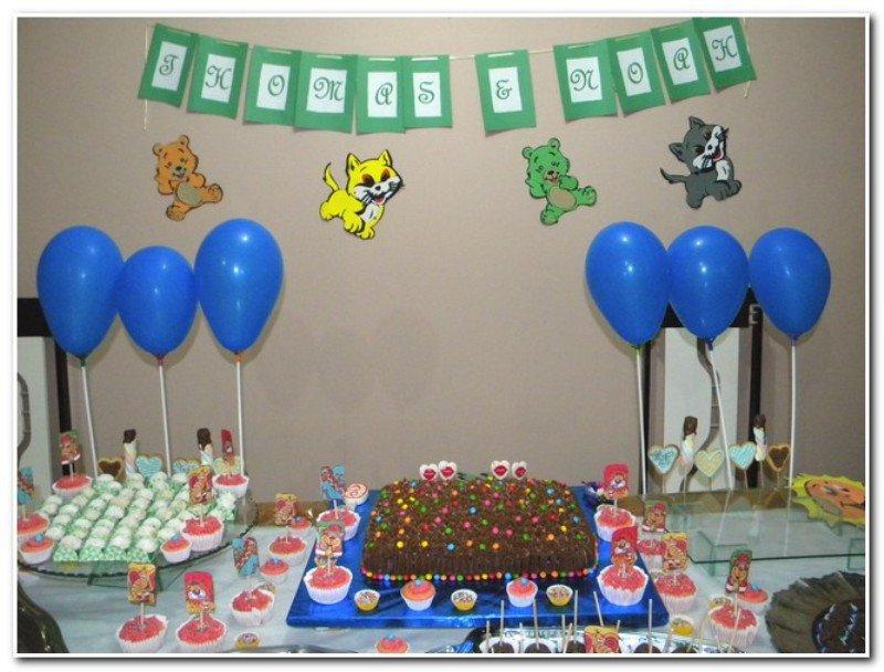 decoração aniversario infantil simples