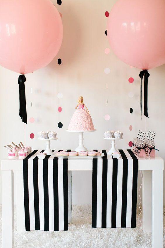 decoração aniversario simples