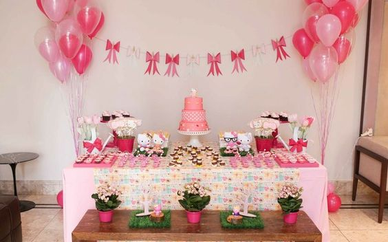 decoração de aniversário simples