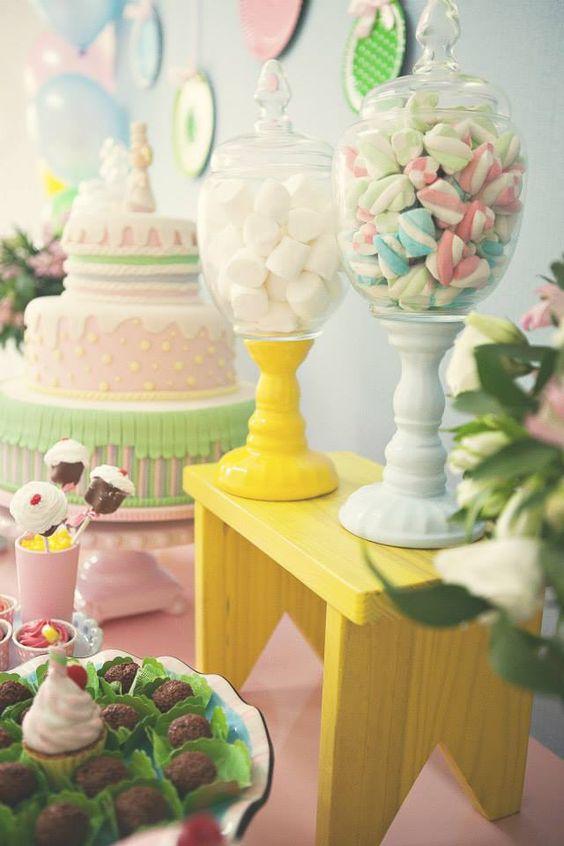 doces para decoração simples de festa