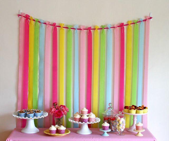 Festa de aniversário simples decorada