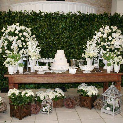 Mesas de Bolo de Casamentos moderna