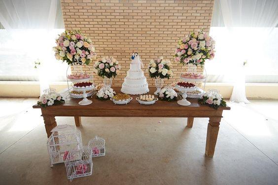 Mesas para Bolos de Casamentos baratos