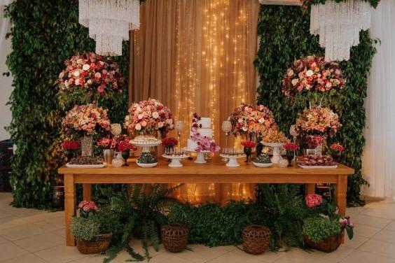 Mesas De Bolo De Casamento 60 Fotos Lindas Dicas
