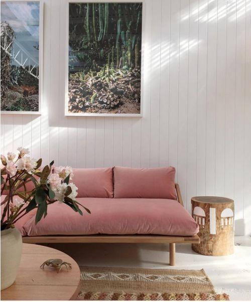 Sofá de Madeira bonito