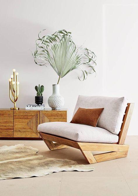 Sofá de Madeira confortável