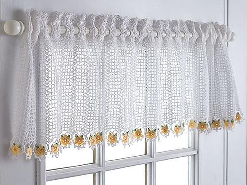 30 foto de cortinas de crochê