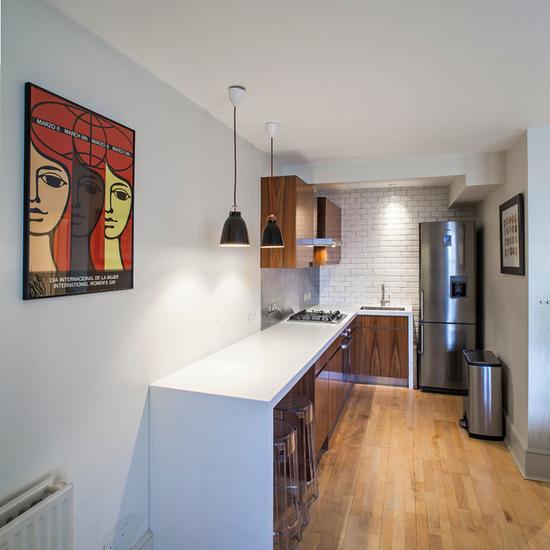 Cozinha em L loft