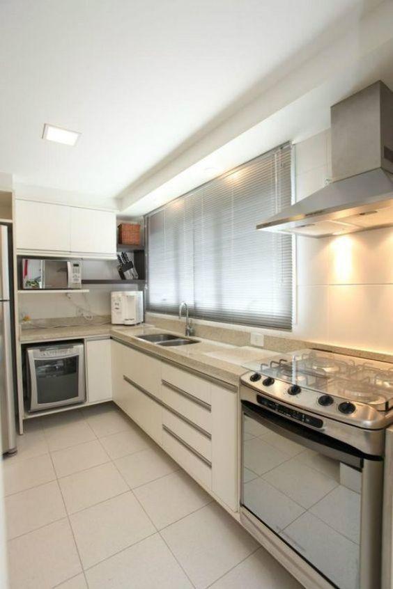 Cozinhas em L fotos