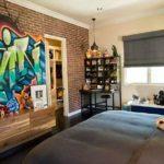 Ambientes decorados com Grafites na parede: 40 Modelos inspiradores