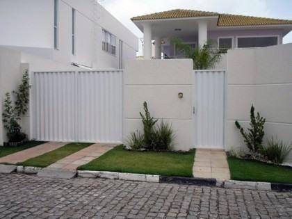 muros residenciais baratos
