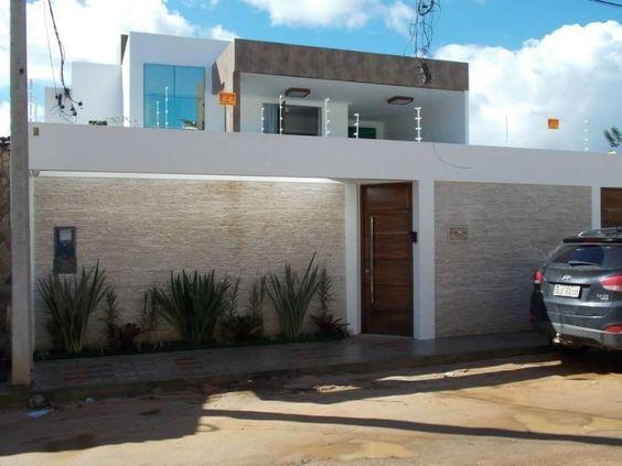 muros residenciais modernos