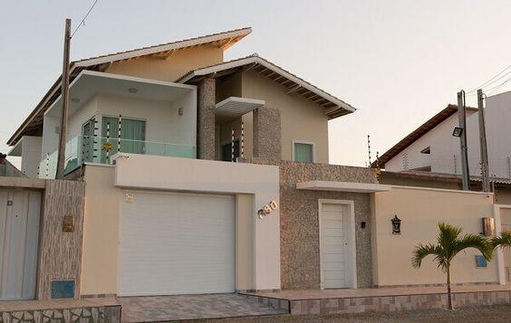 muros residenciais para sobrado