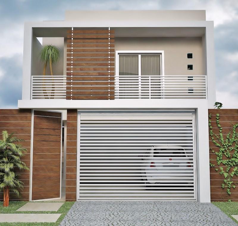 muros residenciais para sobrados
