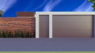 muros residenciais projetos