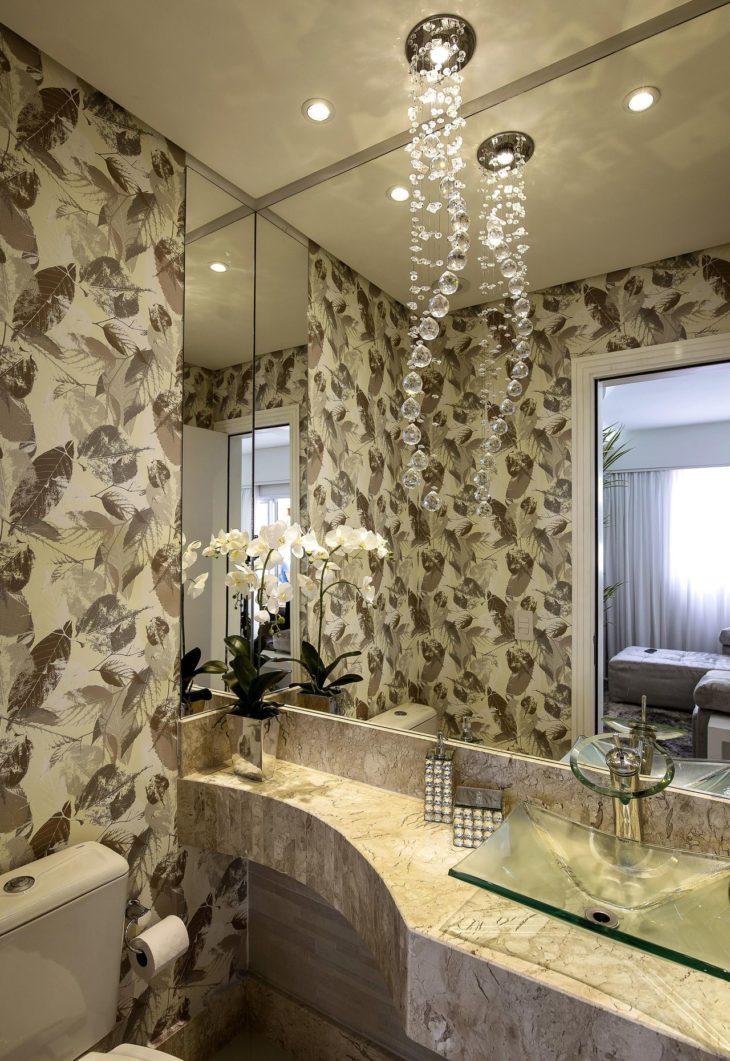 Modelos de Papel de parede para banheiros