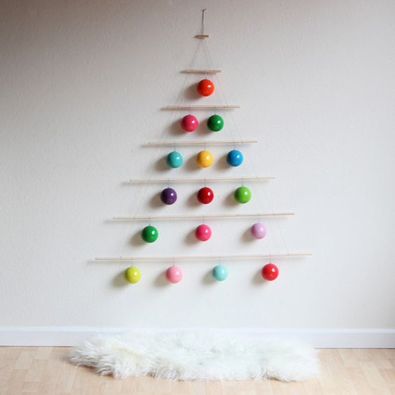 decoracao-natalina-na-parede