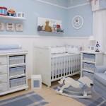 Decoração de Quartos de Bebê masculino simples