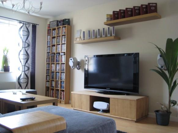 decorar-uma-sala-de-tv-pequena