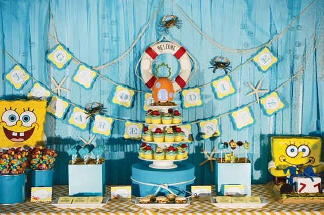 aniversario-bob-esponja-decorado