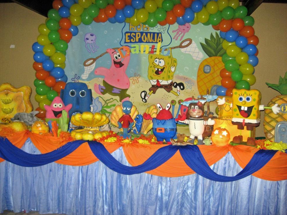 bob-esponja-decoracao-aniversario-infantil