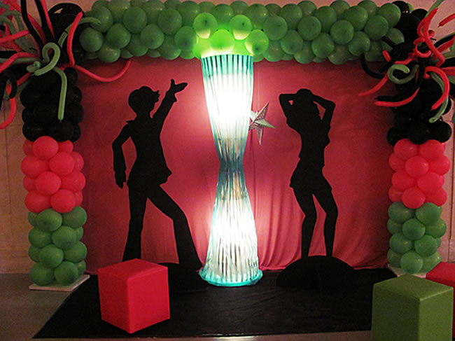decoracao-de-festa-infantil-discoteca