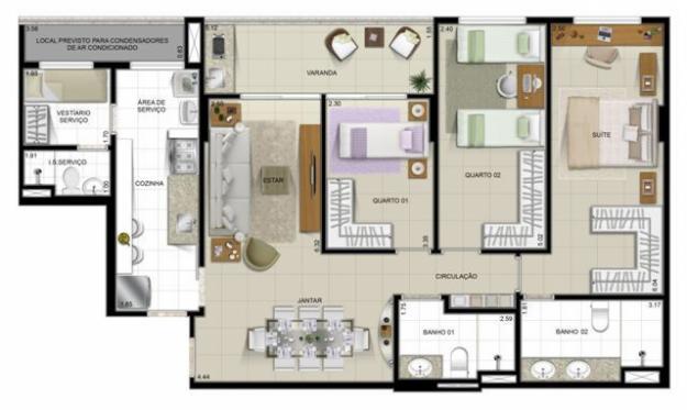 modelos-para-plantas-de-casas-com-3-quartos