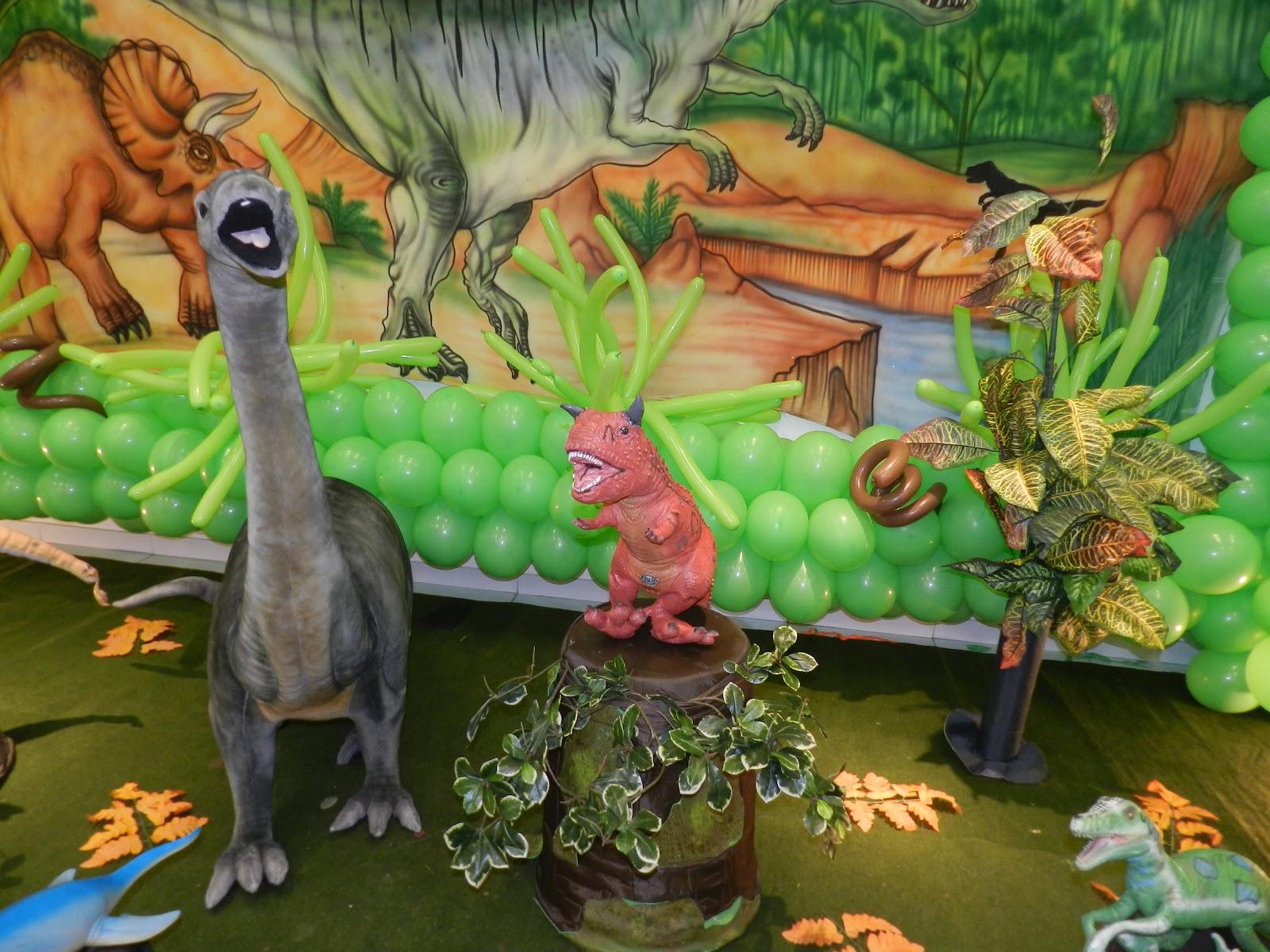 decoracao-para-aniversario-infantil-tema-dinossauro
