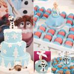 Decoração de Aniversário tema Frozen: 11 Modelos