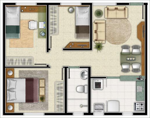 projeto-de-uma-casa-popular