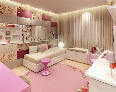 decoracao-colorida-para-quarto-de-mocas