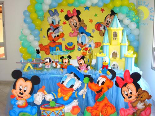 Decoração de festa infantil Disney