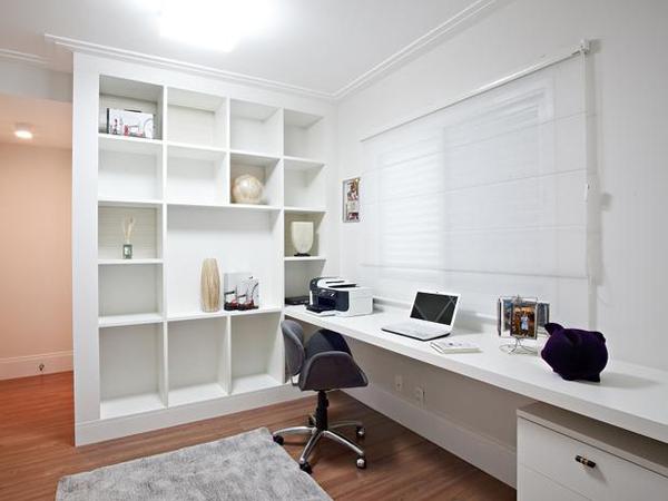 Decoração de Home Office - 21 Modelos de escritórios em casas decorados