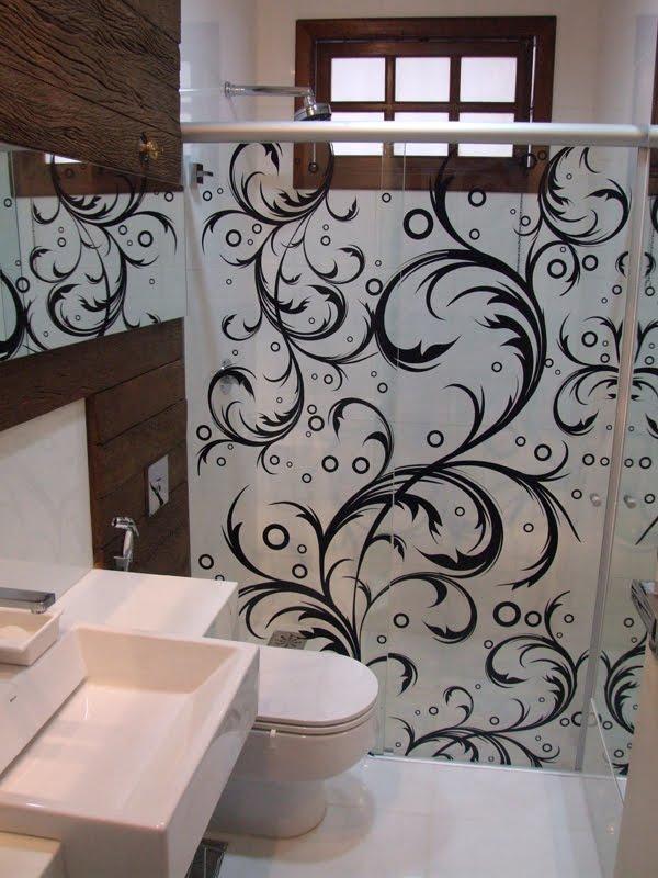 Decoração de banheiros com adesivos