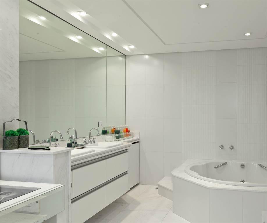 espelhos na decoração de banheiros